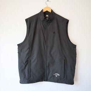Callaway Golf X Series Black Zip Up Vest XXL